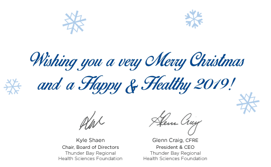Wishing you a very Merry Christmas and a Happy & Healthy 2019!