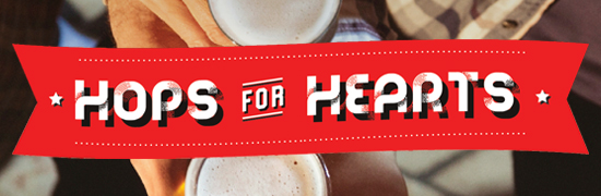 Hops for Hearts Online Ticket Page